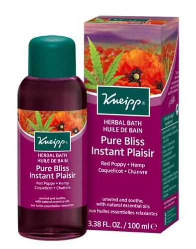 Kneipp Pure Bliss Red Poppy Hemp Herbal Bath - 100ml