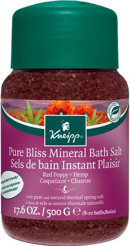 Kneipp Pure Bliss Red Poppy Bath Salts - 500g
