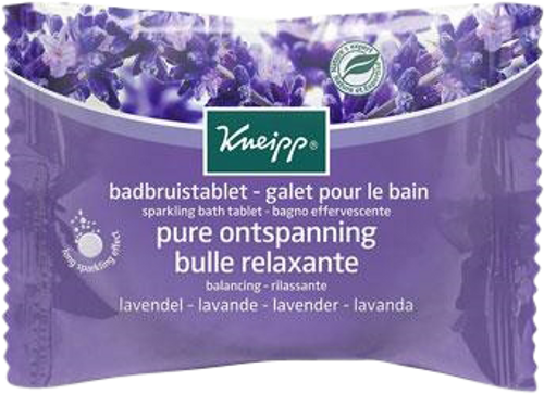 Kneipp Sparkling Herbal Bath Tablet - Balancing (Lavender)