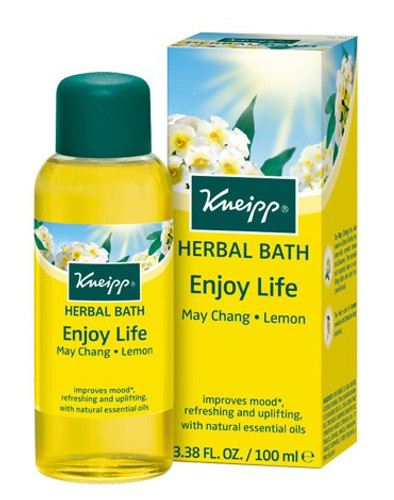 Kneipp Enjoy Life May Chang Lemon Herbal Bath