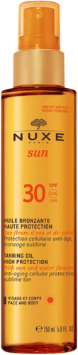 Nuxe Sun Tanning Oil for Face & Body SPF 30 - 150ml