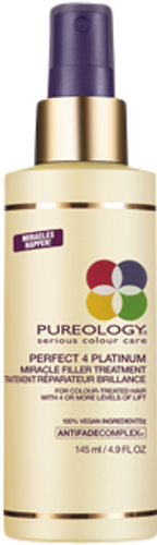 Pureology Perfect 4 Platinum Miracle Filler Treatment