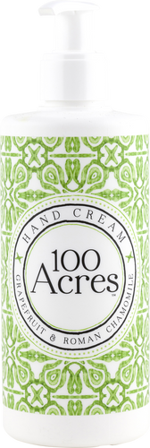 100 Acres Grapefruit & Roman Chamomile Hand Cream - 300ml