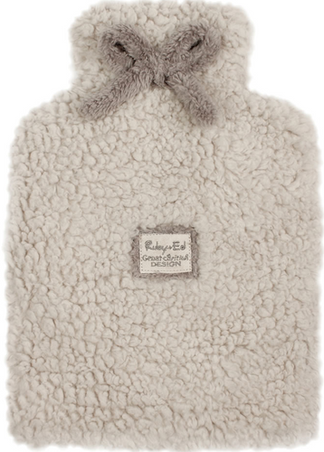 Ruby + Ed Natural Cloud Hot Water Bottle Cover - Cover