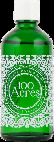 100 Acres Grapefruit & Ylang Ylang Invigorating Bath & Body Oil - 100ml