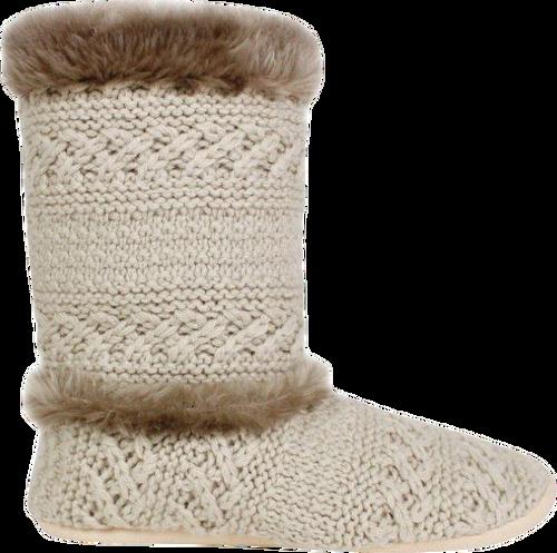 Ruby + Ed Oatmeal Knit Boot