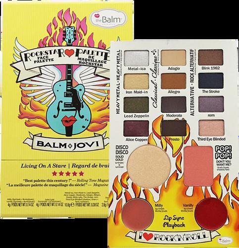 The Balm Balm Jovi Rockstar Face Palette