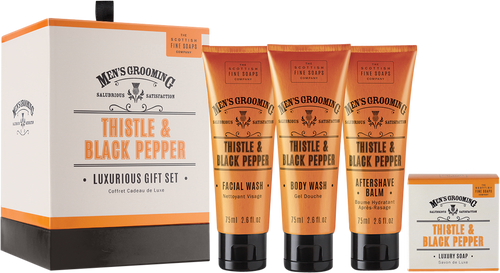 Scottish Fine Soaps Men's Grooming Luxurious Gift Set
