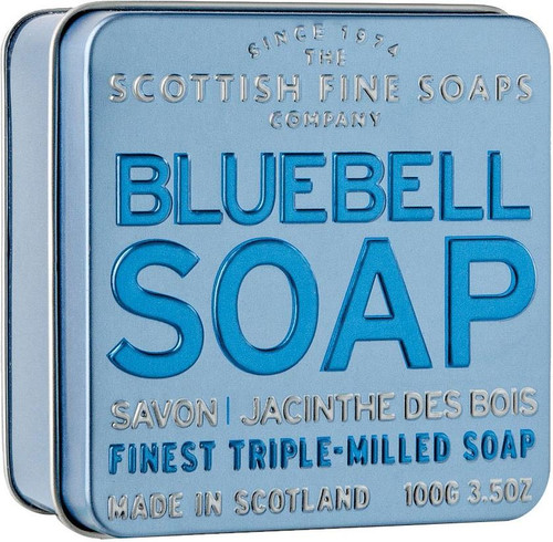 Scottish Fine Soaps Bluebell Soap Tin