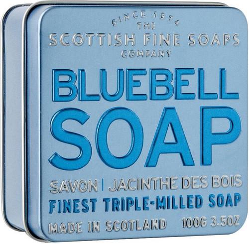 Scottish Fine Soaps Bluebell Soap Tin