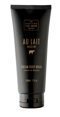 Scottish Fine Soaps Au Lait Noir Cream Body Wash