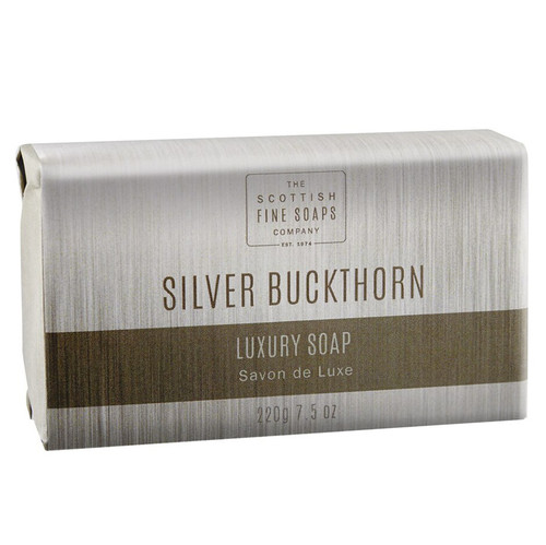 Scottish Fine Soaps Silver Buckthorn Luxury Soap Bar