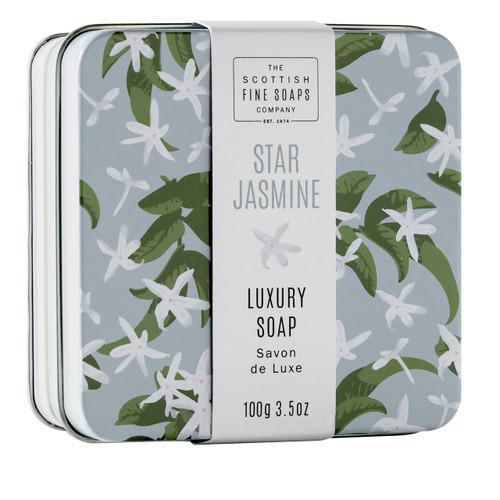 Scottish Fine Soaps Star Jasmine Soap Tin