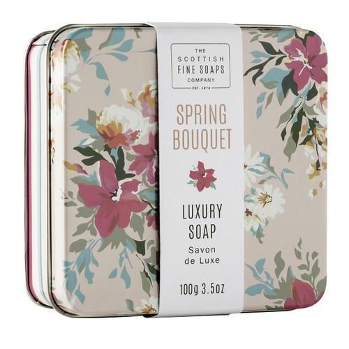 Scottish Fine Soaps Spring Bouquet Soap Tin