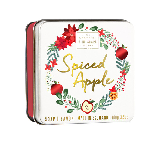 Scottish Fine Soaps Cookie Tin Spiced Apple