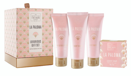 Scottish Fine Soaps La Paloma Gift Set