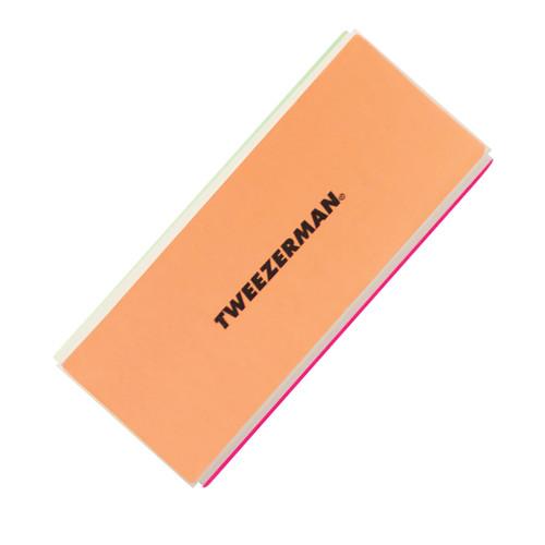 Tweezerman Neon File, Buff, Smooth & Shine Block