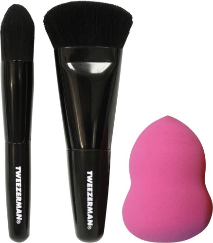 Tweezerman Brush IQ Contour Kit