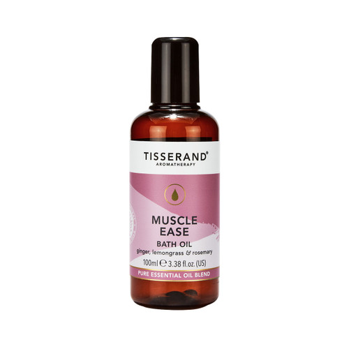 Tisserand Aromatherapy Muscle Ease Bath Oil - 100ml