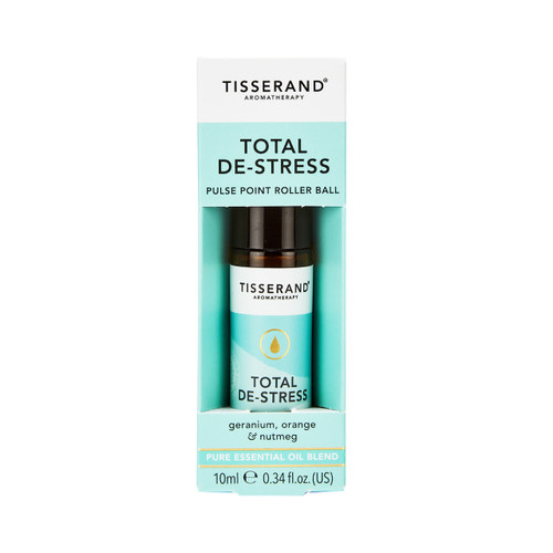 Tisserand Aromatherapy Total De-Stress Pulse Point Roller Ball