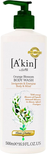 A'kin Aromatherapy Orange Blossom Body Wash