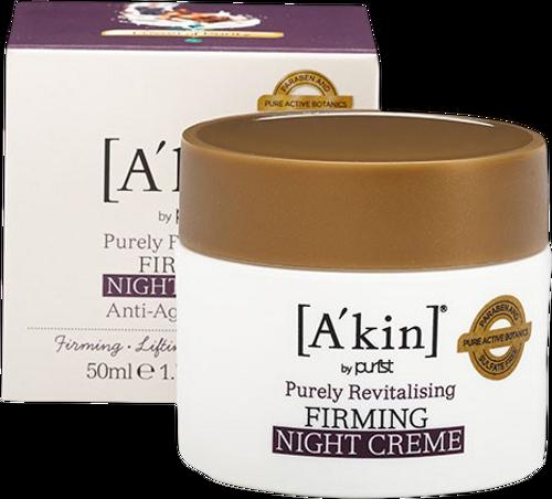 A'kin Pure Revitalising Firming Night Creme - 50ml