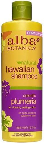 Alba Botanica Natural Hawaiian Shampoo Colorific Plumeria