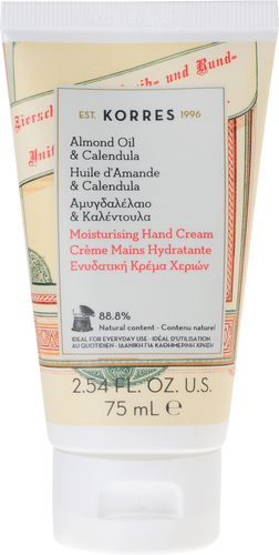 Korres Almond Oil & Calendula Hand Cream
