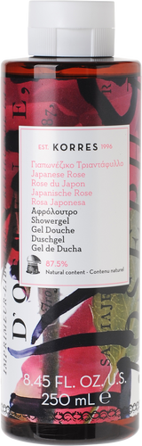 Korres Japanese Rose Showergel - 250ml