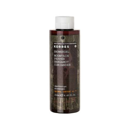 Korres For Him Mountain Pepper, Bergmot and Coriander Showergel