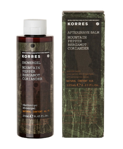 Korres Mountain Pepper Collection