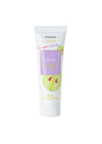 Korres Grape Deep Exfoliating Scrub - 18ml