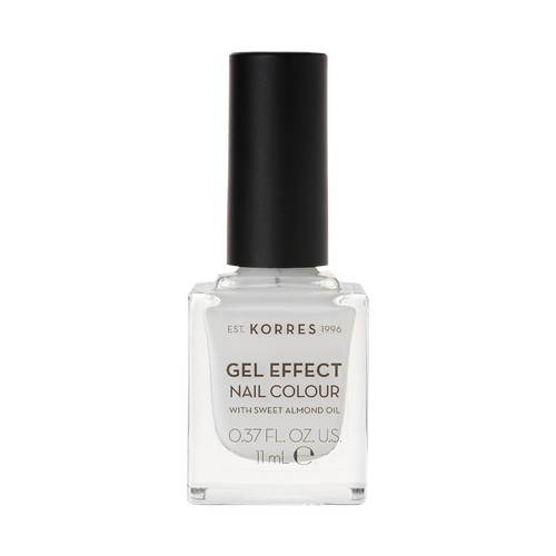 Korres Gel-Effect Nail Colour 01 Blanc White
