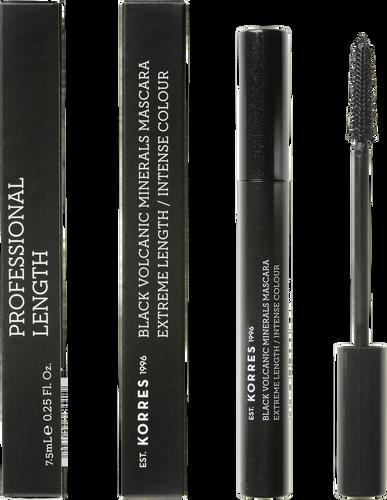 Korres Black Volcanic Minerals Lengthening Mascara - 01 Black