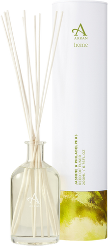Arran Sense of Scotland Home Jasmine & Philadelphus Reed Diffuser