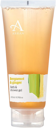 Arran Sense of Scotland Formulas Bergamot & Ginger Bath & Shower Gel