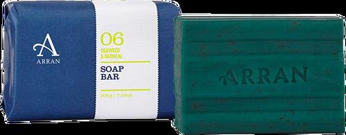 Arran Sense of Scotland Apothecary Seaweed & Oatmeal Soap