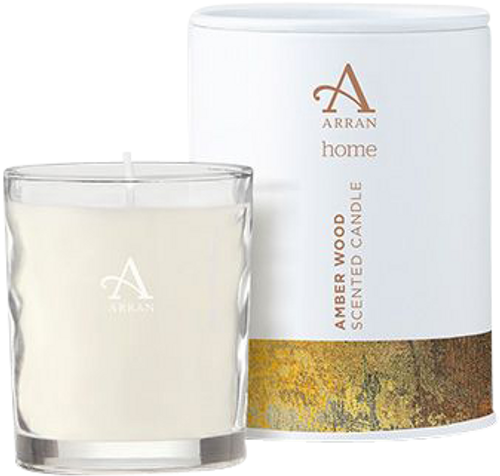 Arran Sense of Scotland Amberwood Travel Candle