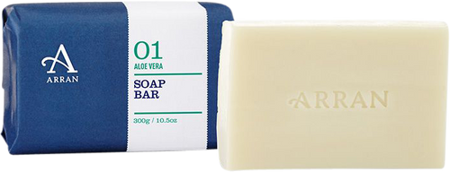 Arran Sense of Scotland Apothecary Aloe Vera Soap - 300g