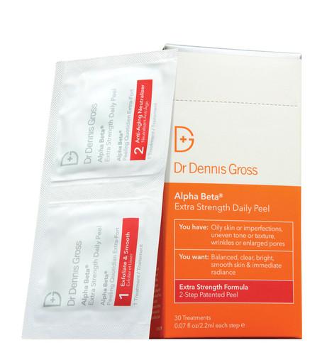 Dr Dennis Gross Extra Strength Alpha Beta Peel - 30 x packettes