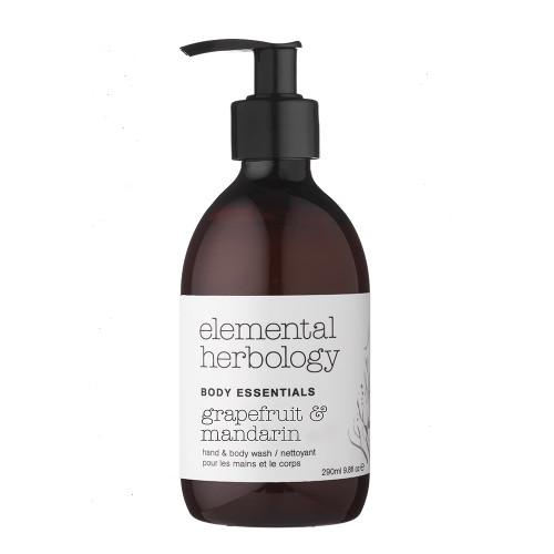 Elemental Herbology Grapefruit & Mandarin Body Wash - 290ml