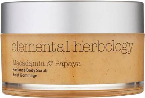 Elemental Herbology Macadamia & Papaya Body Scrub