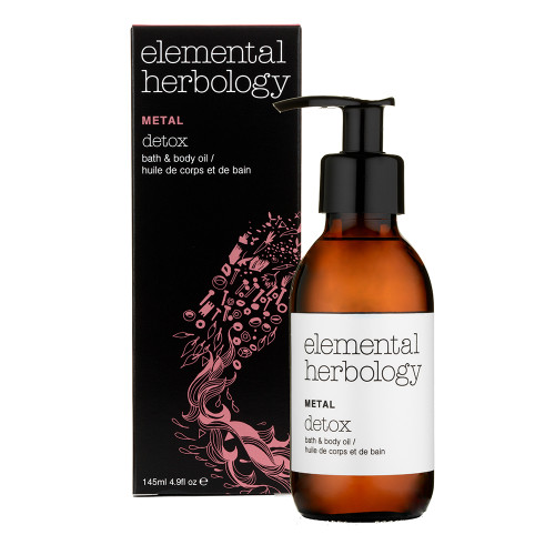 Elemental Herbology Metal Detox Bath and Body Oil - 145ml