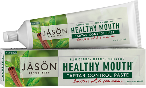 Jason Healthy Mouth All Natural Tartar Control Toothpaste