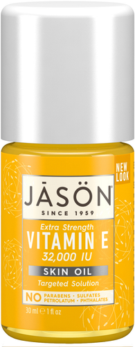 Jason Extra Strength Vitamin E 32,000 IU Pure Natural Skin Oil - 33ml
