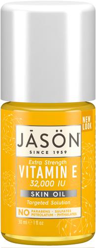 Jason Extra Strength Vitamin E 32,000 IU Pure Natural Skin Oil - 33ml