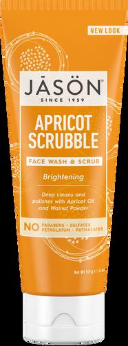 Jason Brightening Apricot Scrubble Pure Natural Facial Wash & Scrub