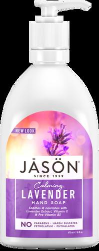 Jason Calming Lavender Pure Natural Hand Soap