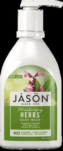 Jason Moisturizing Herbs Pure Natural Body Wash