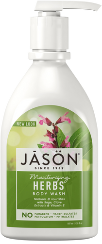 Jason Moisturizing Herbs Pure Natural Body Wash